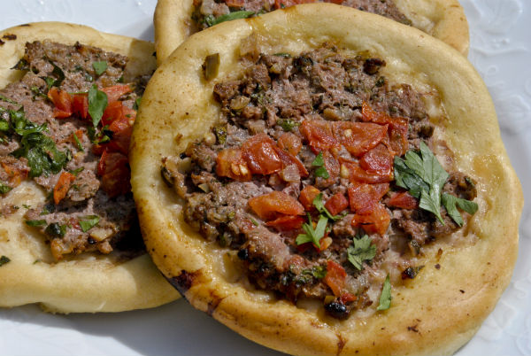 Lahmajun: Turkish Spiced-Lamb Pizza