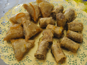 Baklava: A Nondairy Version