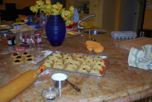Hamantashen, Filled Pastries for Purim