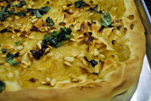 Pissaladiere with Caramelized Onions